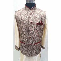 Silk Large Mens Regular Fit Waistcoat