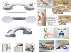 Shower Tub Support Bathing for Kid Old People Disability Grip Handle Suction Helping Bath