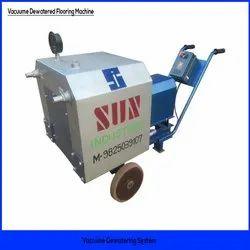 Vacuum Dewatered Flooring Machine