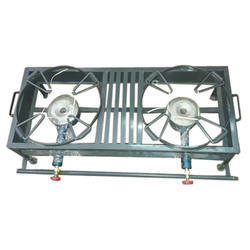 S.K. Production Double Burner Gas Stove