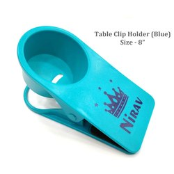 Coffee Mug Table Clip - Blue
