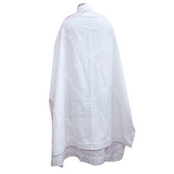 White Chikan Embroidered Dupatta