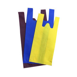 PP Market Quality Non Woven W Cut Bag - Colour