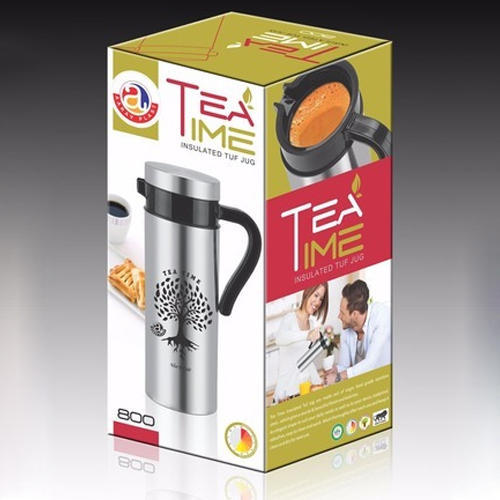 Aarav Plast 800 ML Tea Time Insulated Tuf Jug