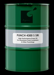 Punch 4300 S SRI High Performance Press Oil For Aluminum Food Containers