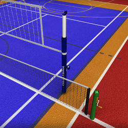 Outdoor Volleyball Court Flooring Services