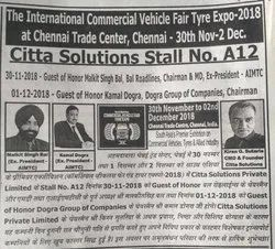 International Commercial Vehicle Fair Tyre Expo ¿¿¿ 2018