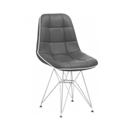 SPS-379 Black Leather Bar Stool Chair