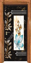 Decor Paper Print Door