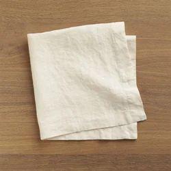 White Cotton Plain Cloth Napkin