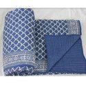 Blue Color Quilt