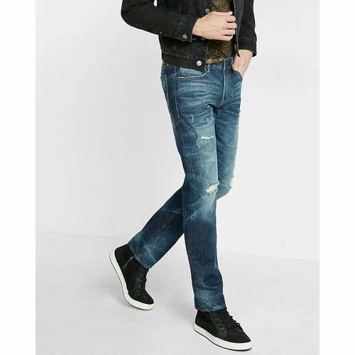 800242e1985a8 Rafe Jeans Blue Mens Slim Fit Jeans