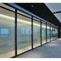 Aluminium Double Glass Partitions