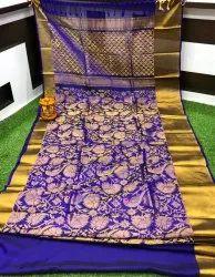 Blue Wedding Uppada Pattu Saree