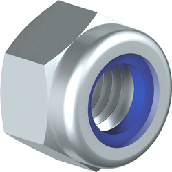 Nylock Nuts - DIN 982, 985, UNC, UNF, BSW, BSF