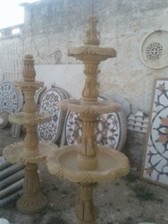 Outdoor Sandstone Garden Fountain