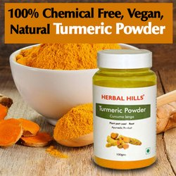 Herbal Ayurvedic Ambehaldi Turmeric Powder - Healthy Digestion
