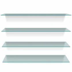 Glass Shelves, Size: Standard