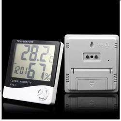 Digital HTC-1 Humidity Time Display Meter With Alarm Clock