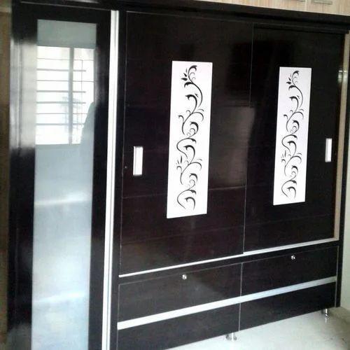 Pvc Bathroom Door Price In Delhi: PVC 2 Doors Designer Cupboard, Rs 750 /square Feet, Bajaj