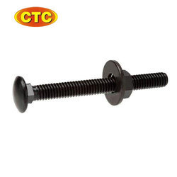 Mild Steel MS Plated Carriage Bolt