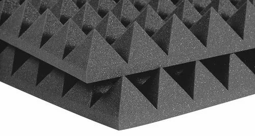 Sound Absorbing Material Acoustic Pyramid Foam Panel