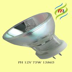 Philips 13865 75W G5.3/4.8 12V 1CT/10X5F Halogen Reflector Lamps