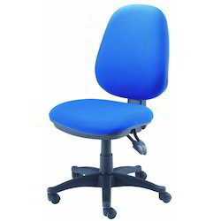 Blue Computer Chair Without Arm Rs