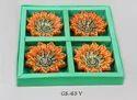 Shree Designer Color Flower Candle
