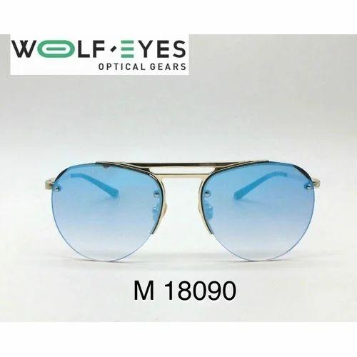 39b4719e946a Wolf Eyes Aviator Sunglasses, Size: 47-18-140, Rs 200 /piece | ID ...