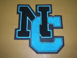 Double Felt Letter Patches