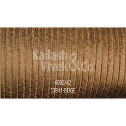 Structured Corduroy Beige Suiting Fabric