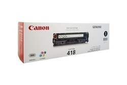 Canon 418 Black Toner Cartridge