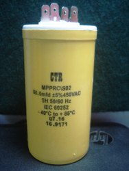 50 MFD / 450 VAC, 85'C  ( ELECT )  MPPRC/SO2, 70x40mm, 50/450AC Capacitor CTR