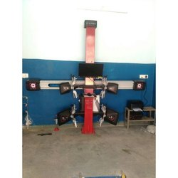 AMFOS 3D Wheel Alignment Machine
