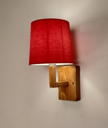 Warm White Classic Wooden Wall Light