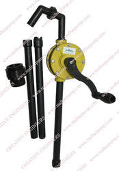 PP Rotary Barrel Pump