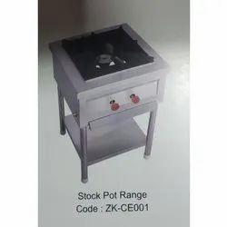 Abid LPG Electric Stock Pot Range, For Restaurant