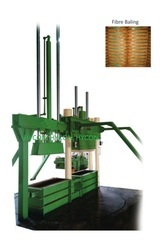 Coconut Fibre Baling Machine