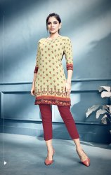 Pr Fashion Launched Simple and Elegant Looking Short Kurti