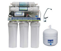 White RO With Pressure Tank, Capacity: 7 L and Below
