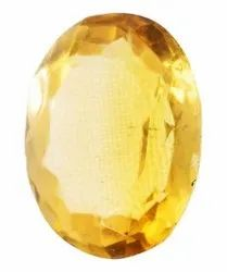 Kesar ZemsNatural Citrine Guru Gemstone
