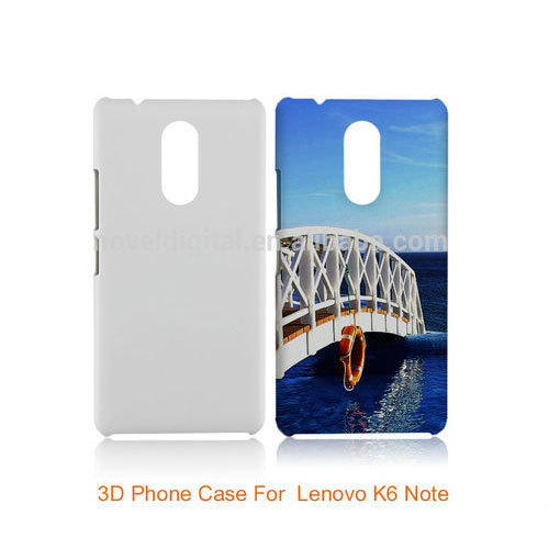 the latest e0349 b5bd1 Sublimation Plain Back Cover For Lenovo K6 Note