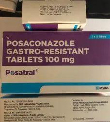 Posatral 100Mg Tab (Posacinazole Gastro Resistant Tab)