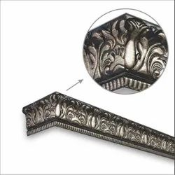 Damask Brown Brush Window Pelmets