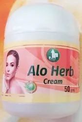 JUN Natural Aloe Vera Herb Cream, Packaging Size: 50 Gm, for Personal