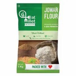 Jowar Flour, Packaging Size: 1 Kg, Packaging Type: Packet