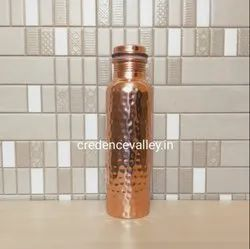 Copper Bottle Hammered Design