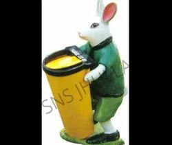 SNS 713 Rabbit Dustbin