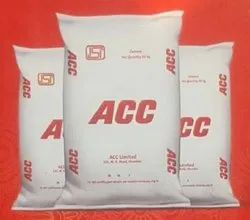 Ppc (Pozzolana Portland Cement) Acc Cement, Packaging Type: Pp Sack Bag